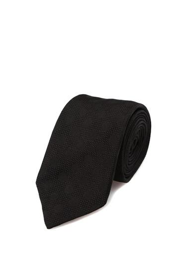 Dolce&Gabbana Dolce&Gabbana  Puantiye Desenli İpek Karavat 101620017 Siyah